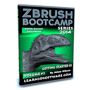 ZBrush  Bootcamp Series Volume #3-Getting Started III | Software | Training