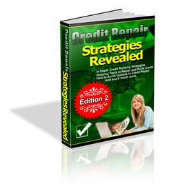 credit repair strategies revealed - with private labels rights