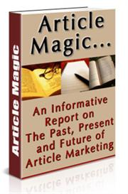 article magic report - with private labels rights