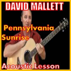 learn to play pennsylvania sunrise by david mallett