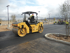 CAT Soil Compactor CB54B   Photos and Images   Technology