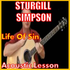 learn to play life of sin by sturgill simpson