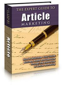 the expert guide to article marketing - with private labels rights