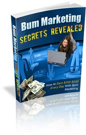Bum Marketing Secrets Revealed - With Private Labels Rights | eBooks | Internet