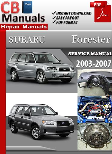 2007 subaru forester repair manual pdf