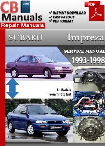 subaru impreza 1993-1998 service repair manual