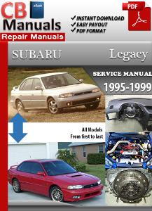 subaru legacy 1995-1999 service repair manual