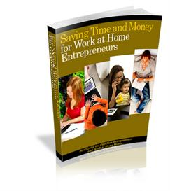 saving time and money for work at home entrepreneurs - with plr