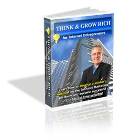 think & grow rich for internet entrepreneurs - with plr