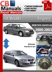 subaru legacy 2000-2003 service repair manual