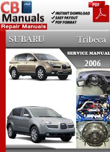 subaru tribeca 2006 service repair manual