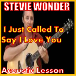 learn to play i just called to say i love you by stevie wonder