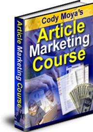 article marketing course with master resale rights