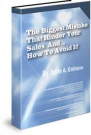 The Biggest Mistake That Hinder - With Master Resale Rights | eBooks | Internet