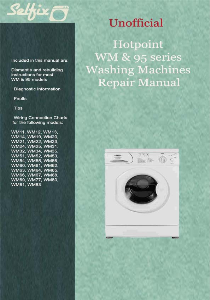 service & repair manual for hotpoint wm series washing machines