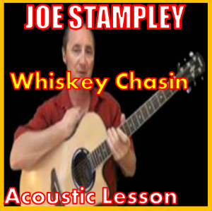 learn to play whiskey chasin by joe stampley