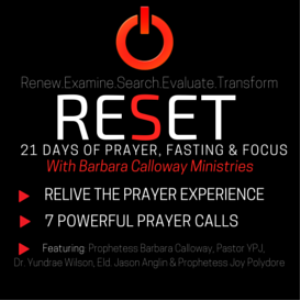 reset prayer series