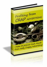 profiting from crap advertising with master resale rights