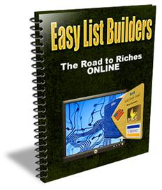 Easy List Builders - The Road to Riches Online - (MRR) | eBooks | Internet