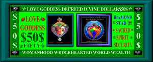 love goddess $50 divine decree