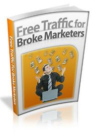 free traffic for broke marketers - with master resale rights