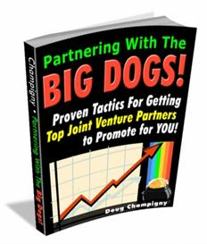 partnering with the big dogs - with master resale rights