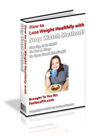 how to lose weight healthily with stop watch method ! (mrr)