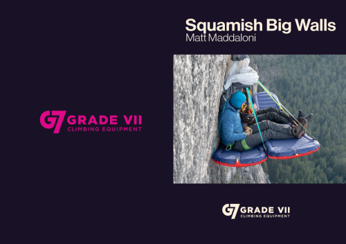 First Additional product image for - G7 Squamish Big Walls Guide Book 2018