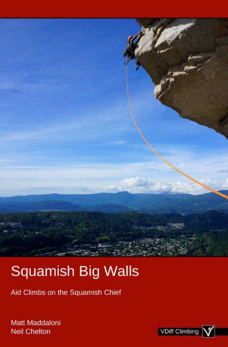 Second Additional product image for - Squamish Big Walls Guide Book 2019