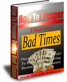 How to Prosper During Bad Times With Private Labels Rights | eBooks | Business and Money