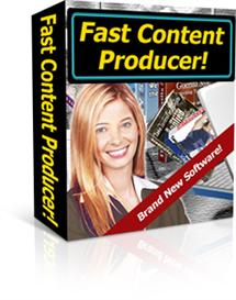 fast content producer - with private lables rights