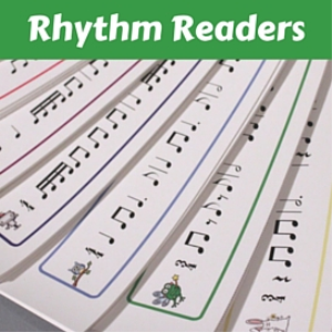 rhythm readers (levels 1-9)