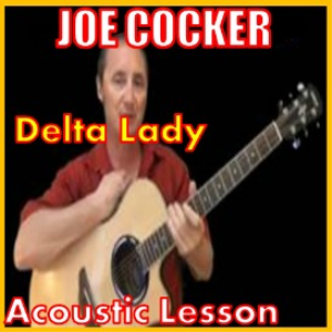 learn to play delta lady by joe cocker