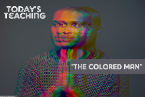 the colored man