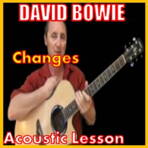learn to play changes by david bowie