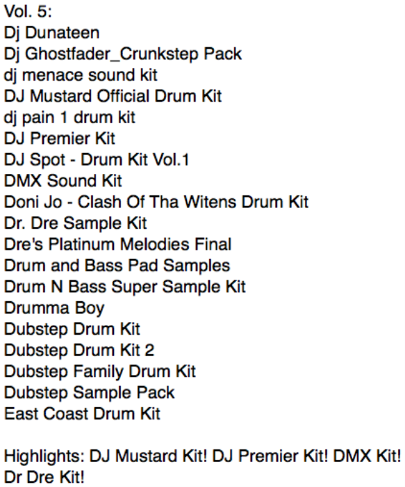 First Additional product image for - Ultimate Drum Kits vol. 5