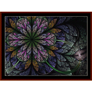 Fractal 545 cross stitch pattern by Cross Stitch Collectibles | Crafting | Cross-Stitch | Wall Hangings