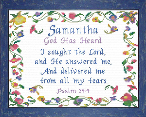 name blessings - samantha 2