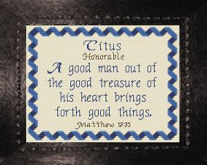 name blessings - titus