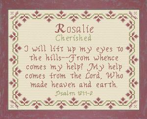 name blessings - rosalie