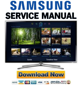 samsung un46f6350 un46f6350af un46f6350afxza smart led tv service manual