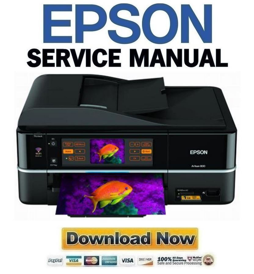 epson artisan 800 all in one printer service manual repair guide rh store payloadz com Epson Artisan 800 Manual PDF epson artisan 800 service manual