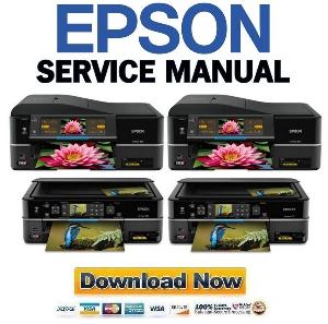 Epson Artisan 810 + 710 Service Manual & Repair Guide | eBooks | Technical