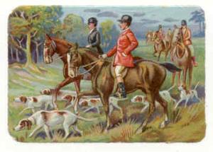 the hunt - petticoats and cravats