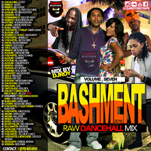 dj roy bashment raw dancehall mix vol.7
