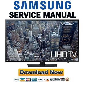 Samsung UN65JU6400 UN65JU6400F UN65JU6400FXZA Service Manual and Repair Guide   eBooks   Technical