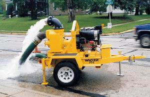 towable pump poster art
