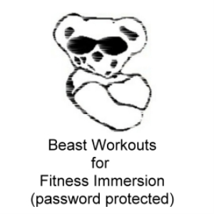 Beast Workouts 045 Version 2 ROUND ONE for Fitness Immersion | Crafting | Sewing | Quilting