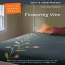 Flowering Vine PDF   Crafting   Sewing   Quilting
