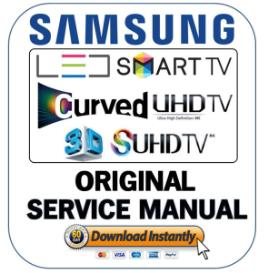 samsung un55ju6700 un55ju6700f un55ju6700fxza curved 4k ultra hd smart led tv service manual